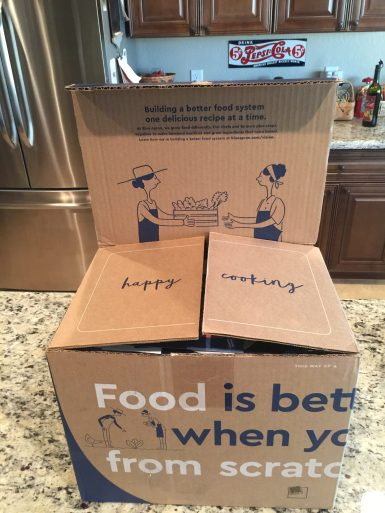 Blue Apron Box #1