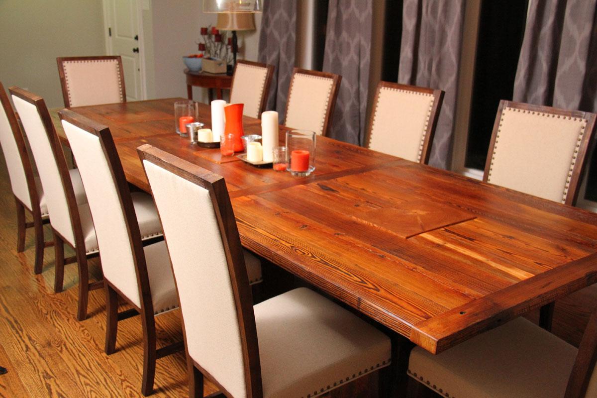 custom furniture rustic grain