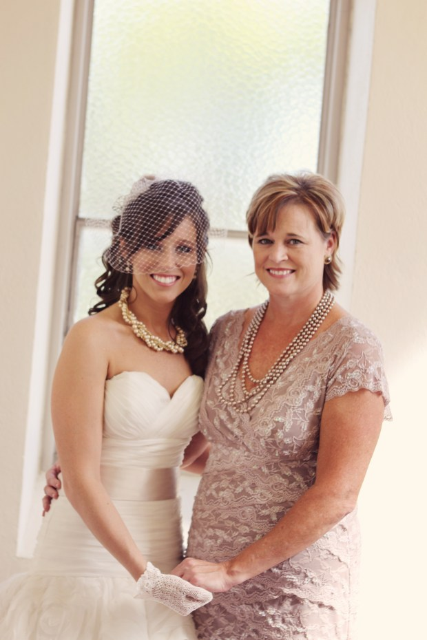 My mom and I before the ceremony.