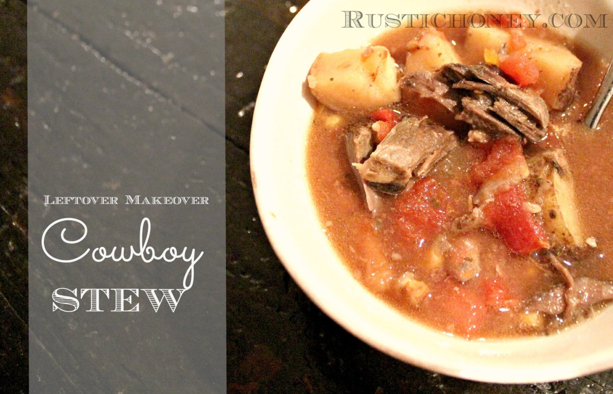 Makeover Your Leftovers: Pot Roast Turned Cowboy Stew