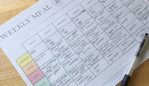 March Money Madness: Meal Planning Printable