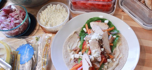 Wrap-It-Up Wednesday: Greek Chicken Wrap