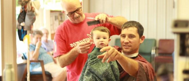Ren's First Haircut