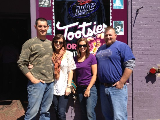 The crew @ Tootsie's Saturday morning.