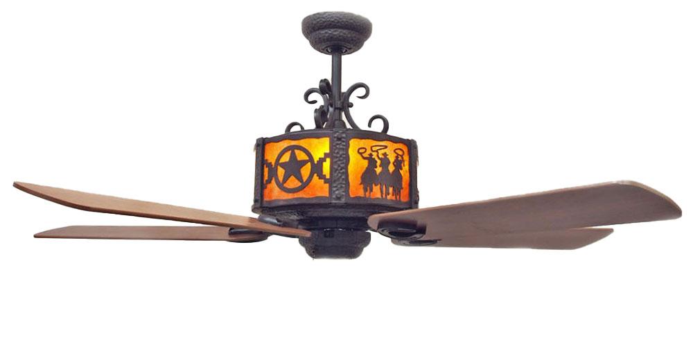 copper canyon craftsman western ceiling fan kiva select