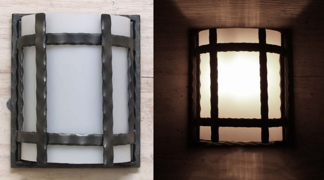 Copper Canyon M134 Rustic Forged Wall Sconce - Rustic Lighting on Rustic Wall Sconces id=45745