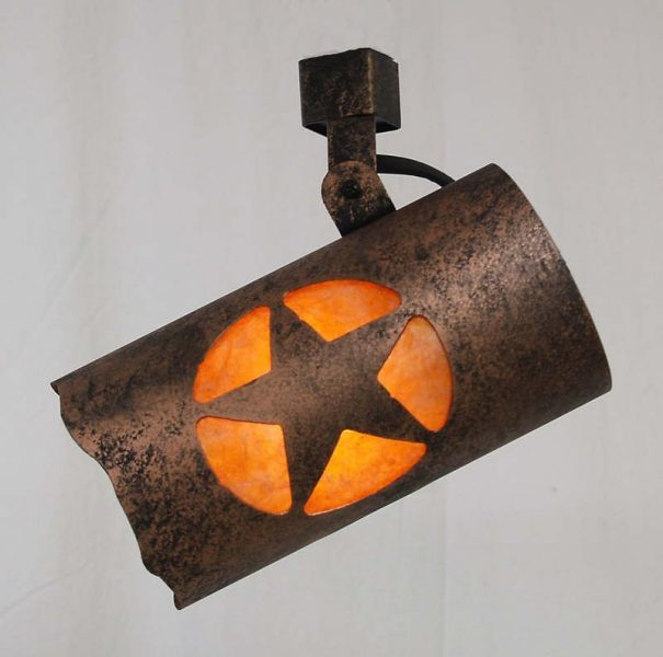 Rustic Track Lighting