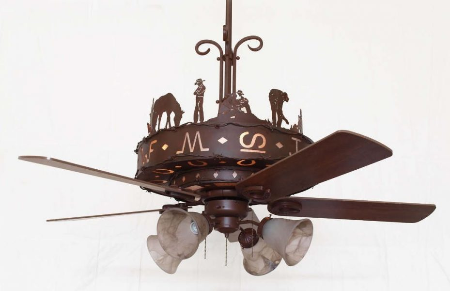 Wagon Wheel Light Fixture