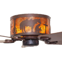 Ceiling Fans   Rustic Lighting   Fans Praying Cowboy Hugger Ceiling Fan