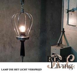 Lampen die het licht verspreiden