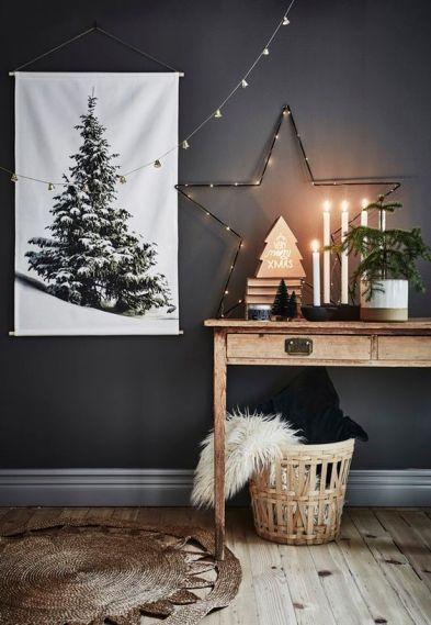 kerstboom canvas