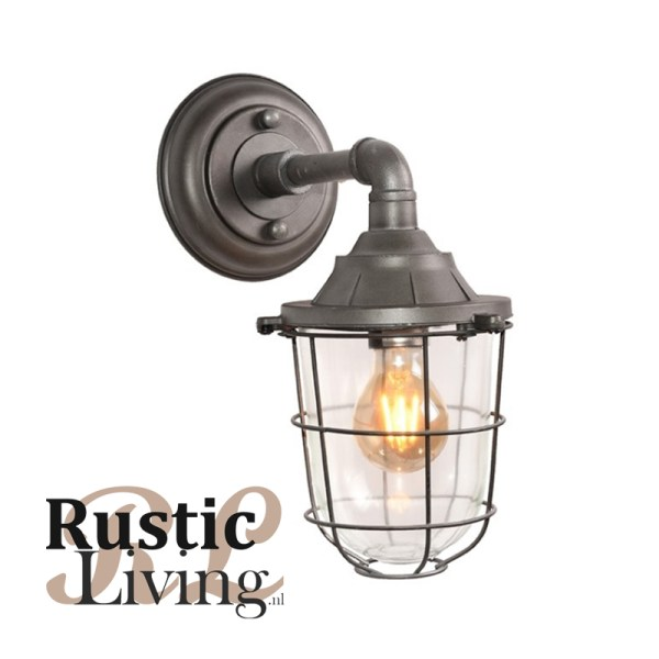 Wandlamp Seal burned steel label51