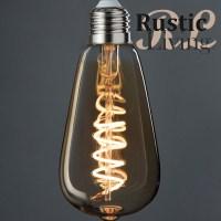 Ledlamp St 64 Amber Spiral e27