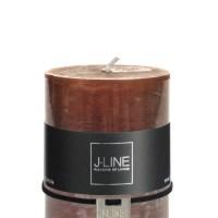Cilinderkaars Bruin M 48h