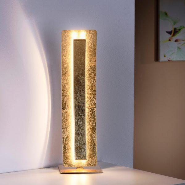 tafellamp Nevis bladgoudlook metaal Led 1258Lumen