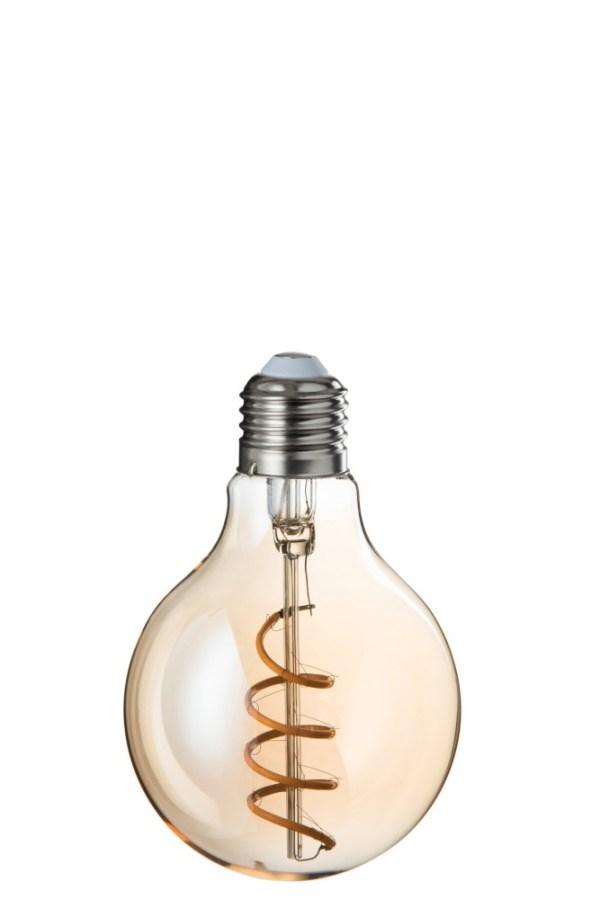 ledlamp dimbaar g80 amber spiraal