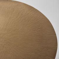 salontafel nobby Antiek goud gegoten metaal XL