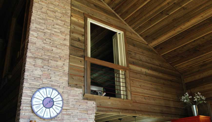 Exterior Projects: Channel Rustic Siding