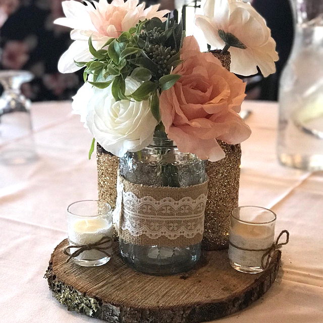 """Rustic Wedding Centerpieces: 15 Wood Slices 8"""" To 10"""" Tree Slices"""