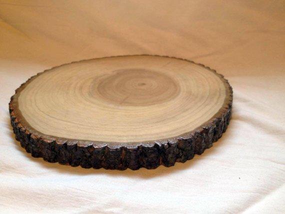 decorative wood slice