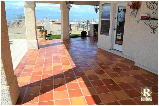 super sealed square saltillo tile