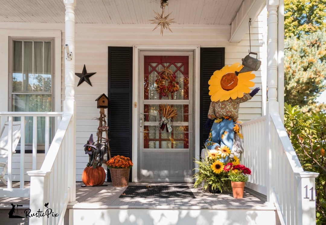 scarecrow decorating ideas front porch
