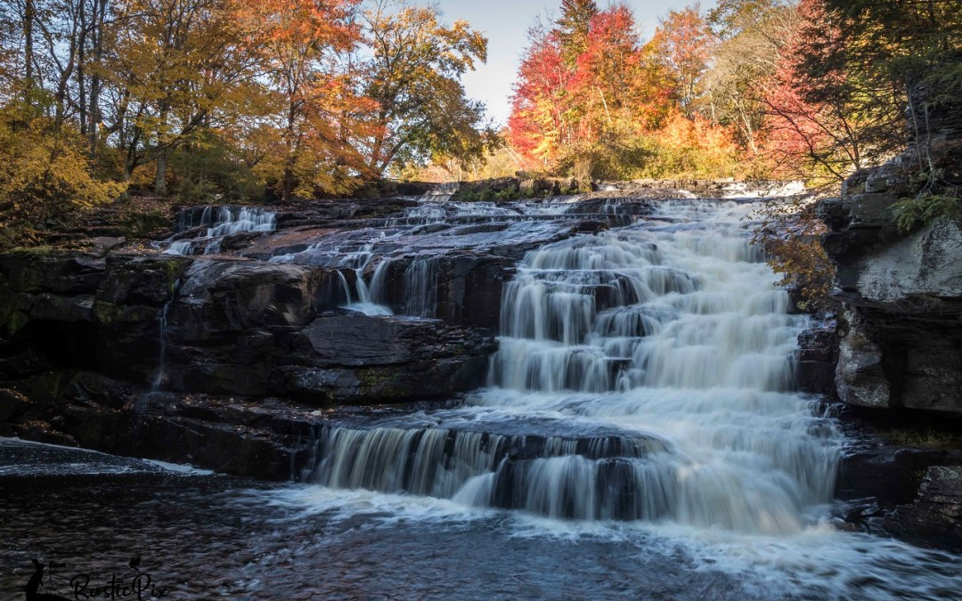Shohola Falls:  Quick Stroll to Amazing Waterfalls in the Poconos