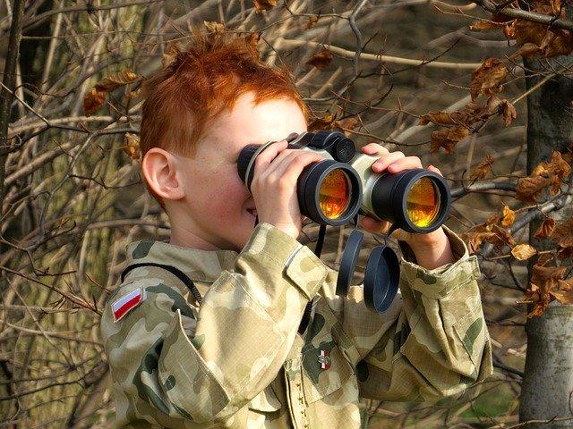 binoculars kid