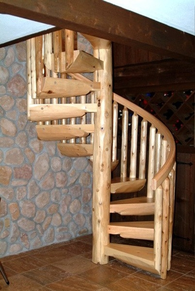 Spiral Staircases Ryan S Rustic Railings Orr Mn   Circular Stairs For Sale   Rustic   Ornate   Interior   Shop   Slide