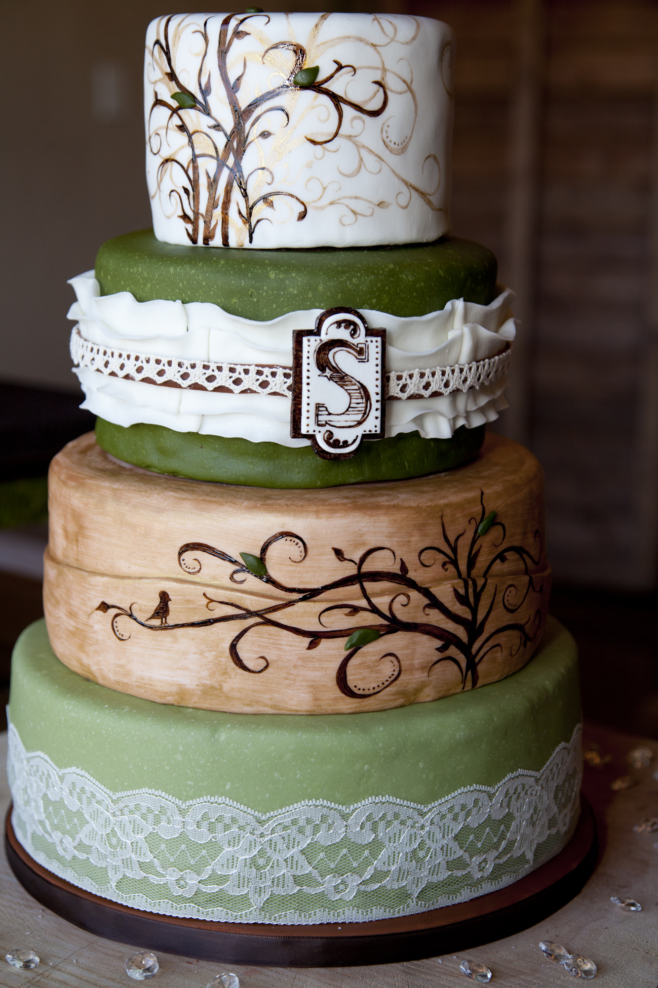 Rustic Wedding Cakes Ideas