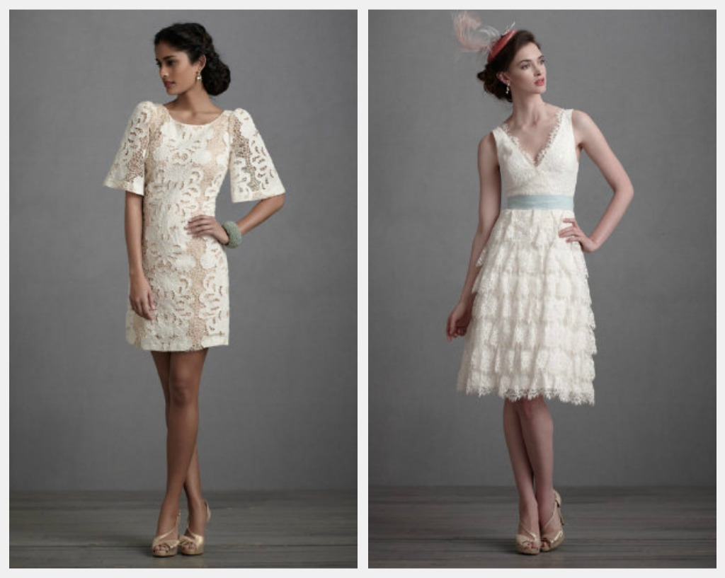 Rustic Short Wedding Gowns