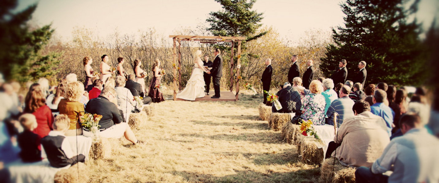 Minnesota DIY Farm Wedding