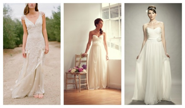 Gowns For A Glamorous Country Style Wedding