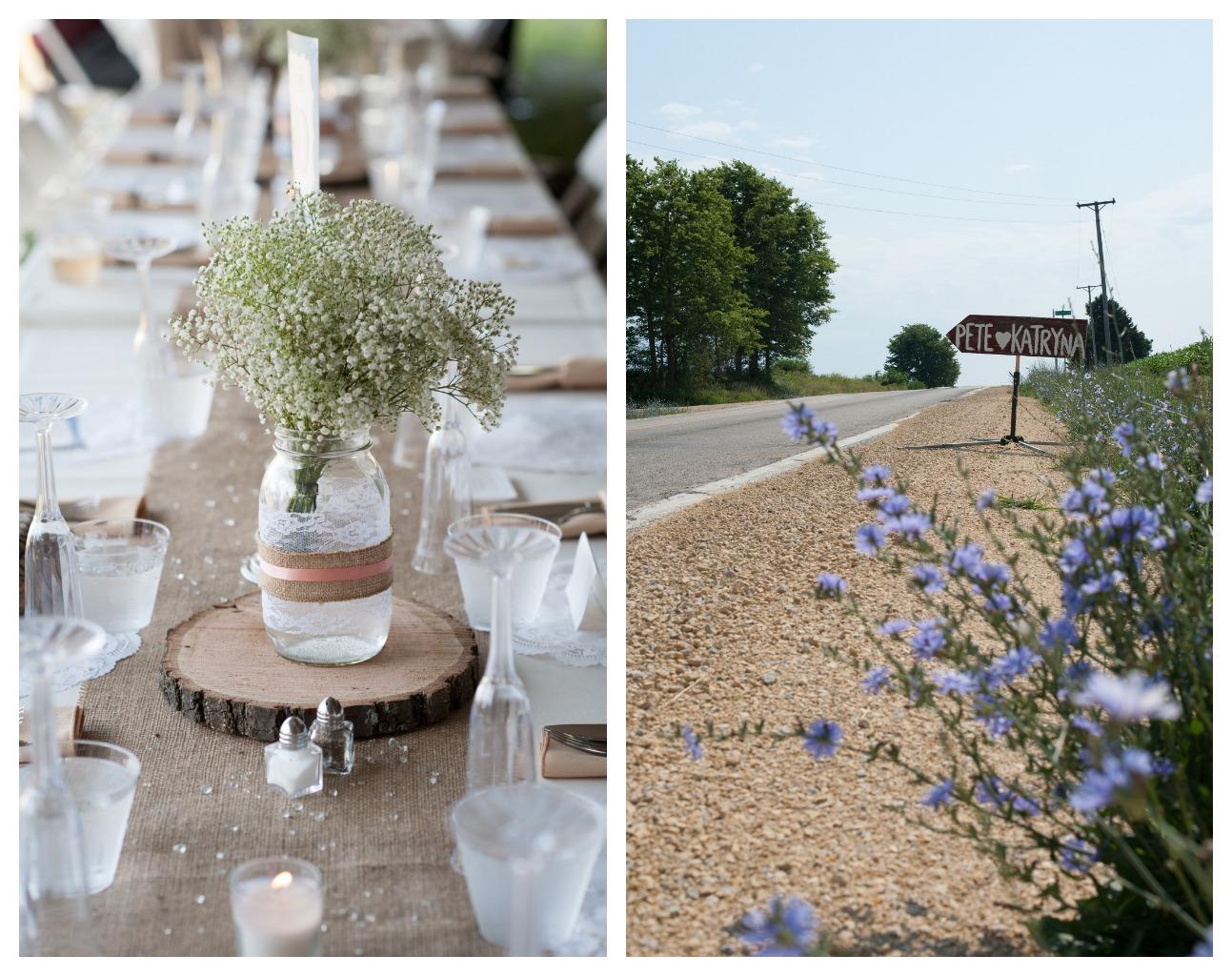 Rustic Northern Illinois Farm Wedding