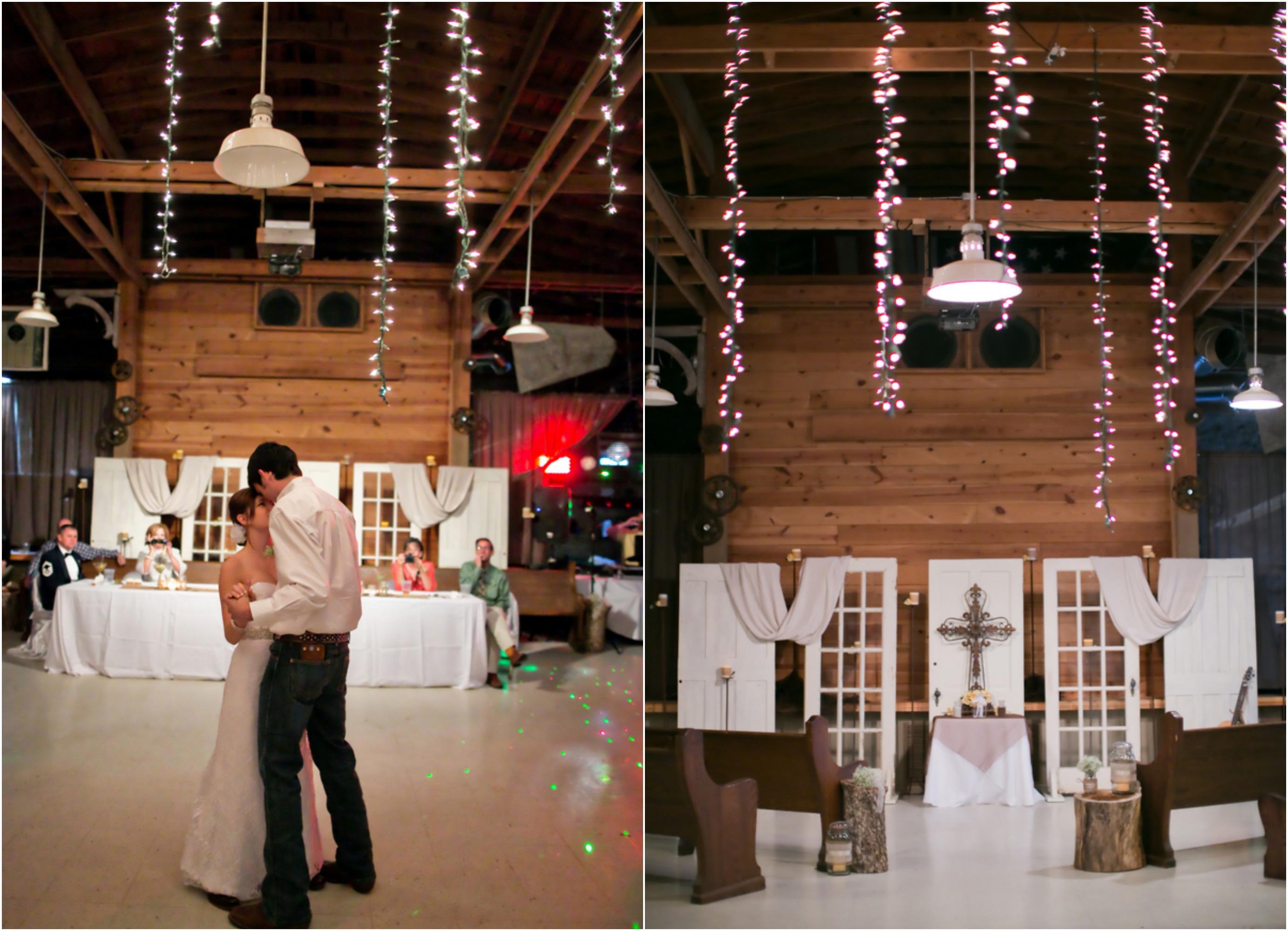 Texas Barn Wedding With Country Wedding Decorations