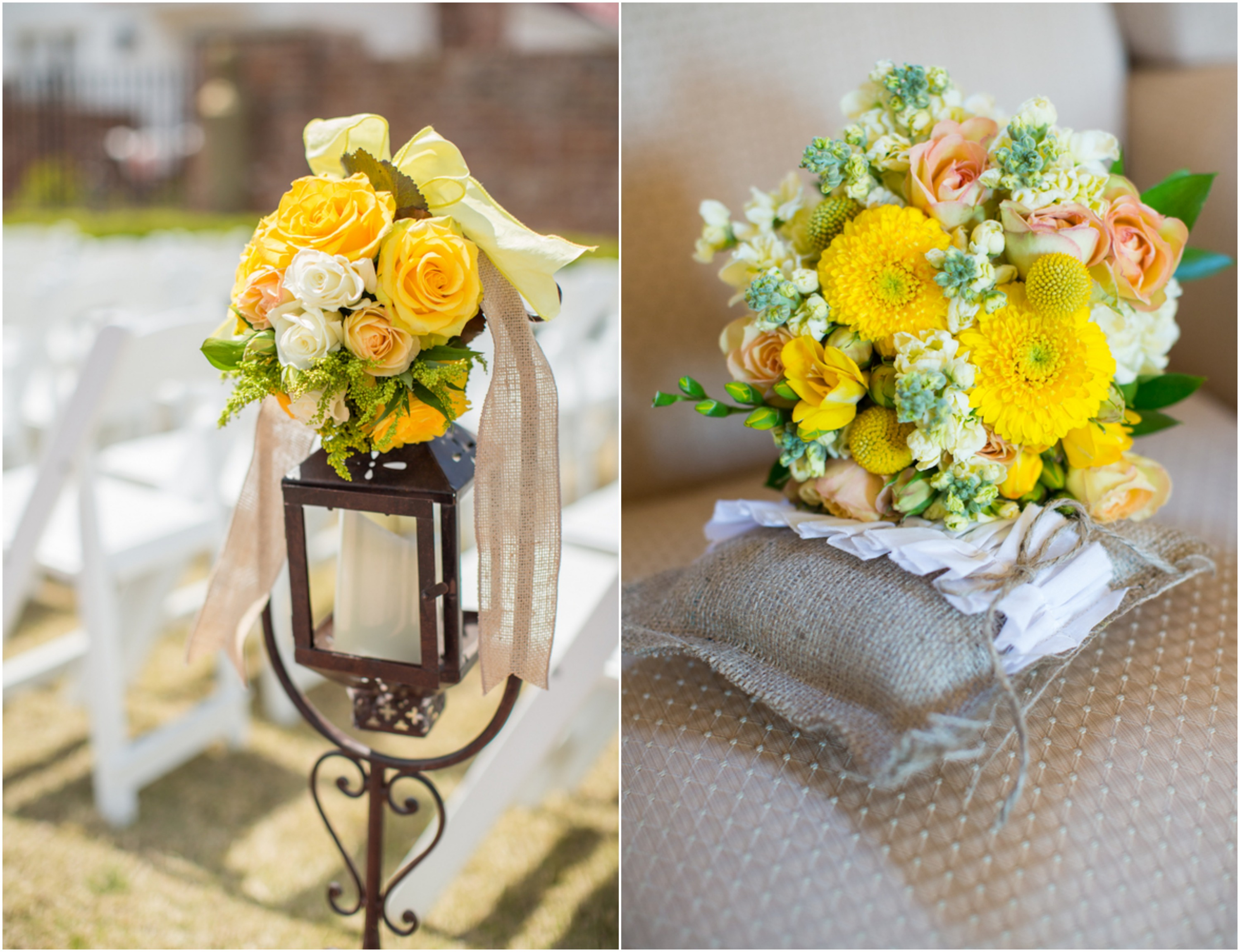 Country Yellow Themed Wedding