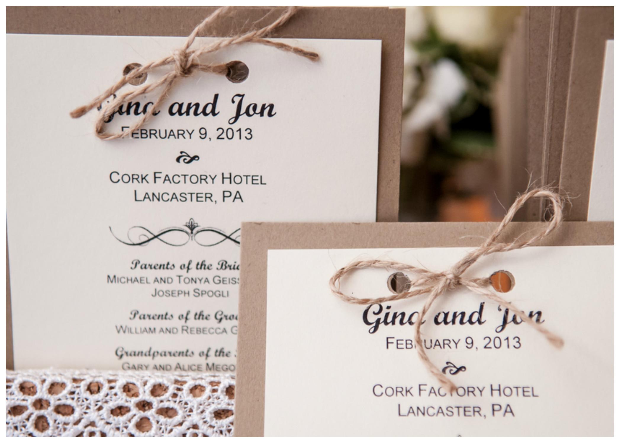 Cork Factory Winter Wedding