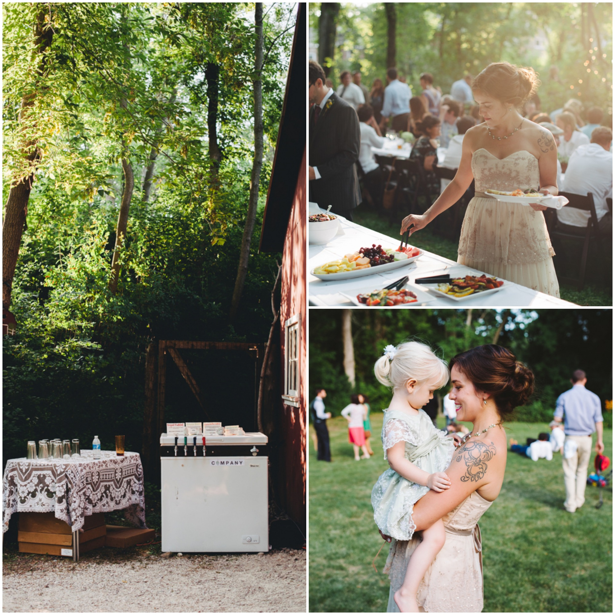 A Vintage Style Backyard Wedding Rustic Wedding Chic