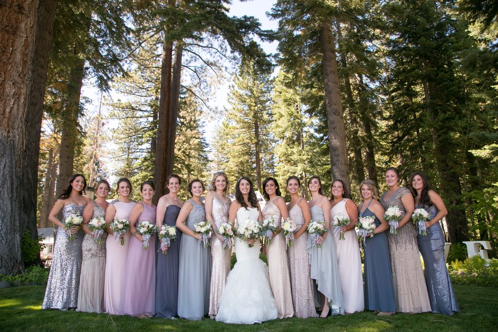 Amazing Elegant Lake Tahoe Wedding Rustic Wedding Chic