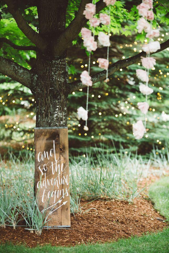 Elegant Rustic Backyard Wedding - Rustic Wedding Chic on Rustic Backyard Ideas id=70864