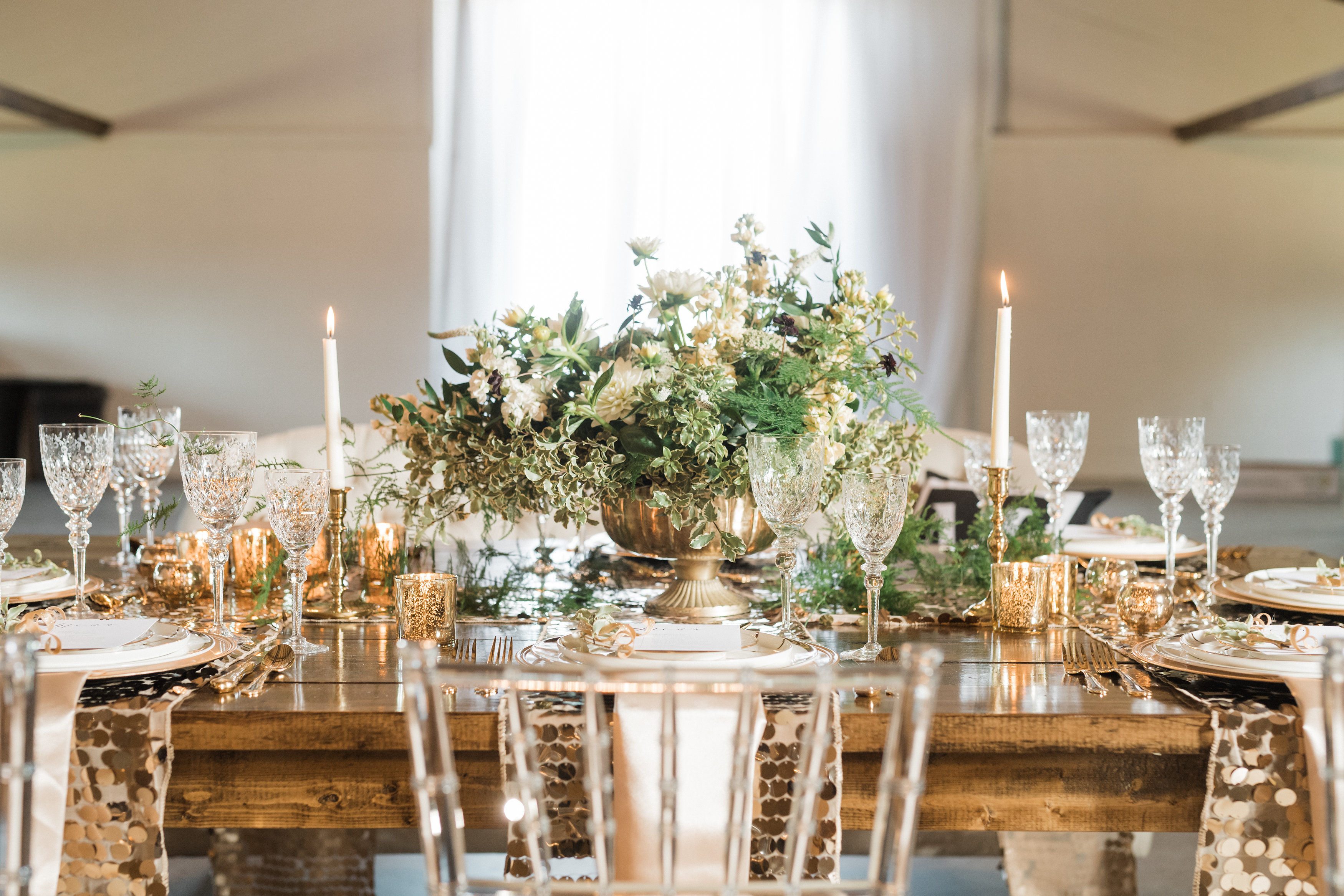 Elegant & Glam Country Wedding Inspiration