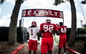 Rutgers Scarlet Knights Football practice on Monday August 4, 2014. Ben Solomon/Rutgers Athletics