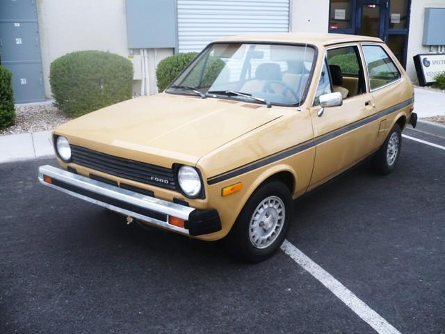 1978 Ford Fiesta front