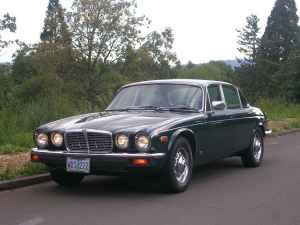 1978 Jaguar XJ6L front