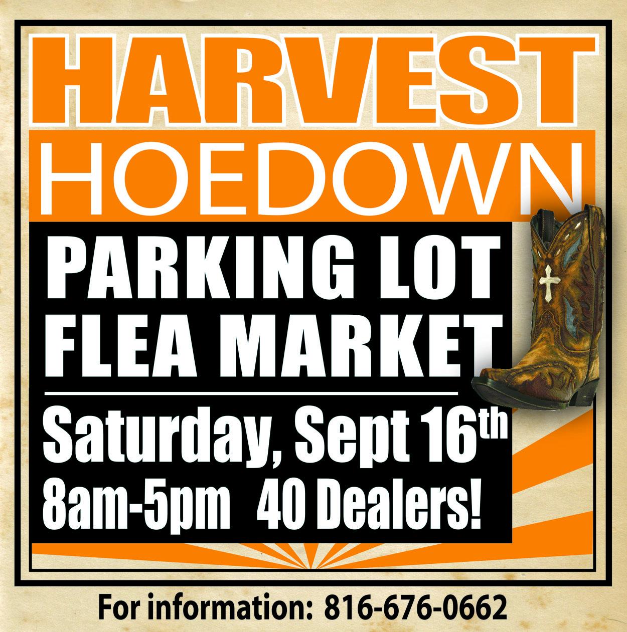 Harvest Hoedown Flea Market