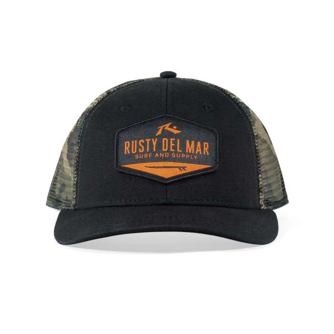 Rusty Del Mar - Surf and Supply Hat - Camo