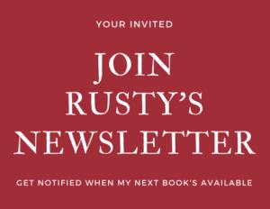 Rusty Ellis author join newsletter