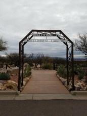Entrance to Kartchner Caverns State Park, Arizona
