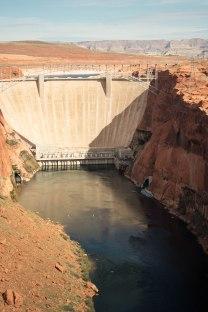 Glen Canyon Dam, Page Arizona