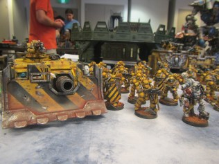 Close up of some Imperial Fists